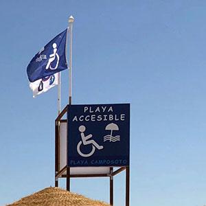 Playas accesibles en España